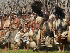 HRH Misuzulu of Kwakhangela, HRH Prince Africa Zulu of Onkweni,HRH Prince Smangaye Zulu,HRH Prince Lungelo Zulu and HRH Prince Bambindlovu of Kwakhangela