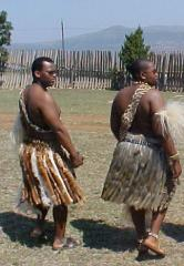HRH Prince Africa Zulu of Onkweni and HRH Prince Lungelo Zulu of Kwakhangela Palace