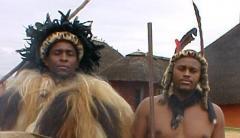 Mr Sibeko a.k.a (Dlokovu) and HRH Prince Africa Zulu