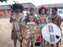 All attending the Incwala Festival in Swaziland - 2006