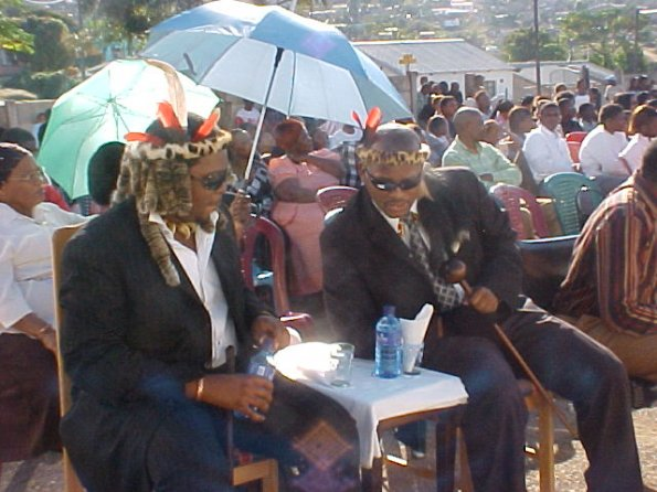 Guests at KwaMashu Community Church