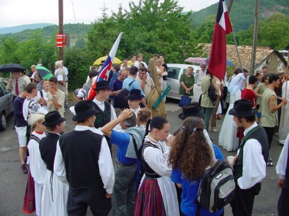 The Folklore Festival in Hungary